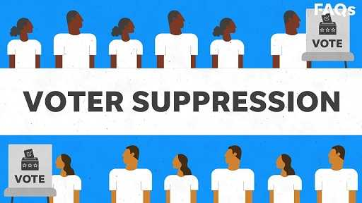 Voter Suppression in Texas